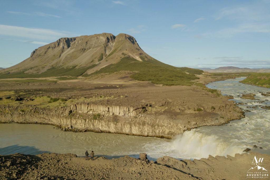 Iceland Proposal Photographer photographs newly engaged couple