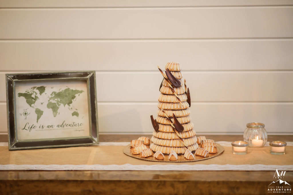 Traditional Iceland Wedding Cake Kransakaka Ring Cake