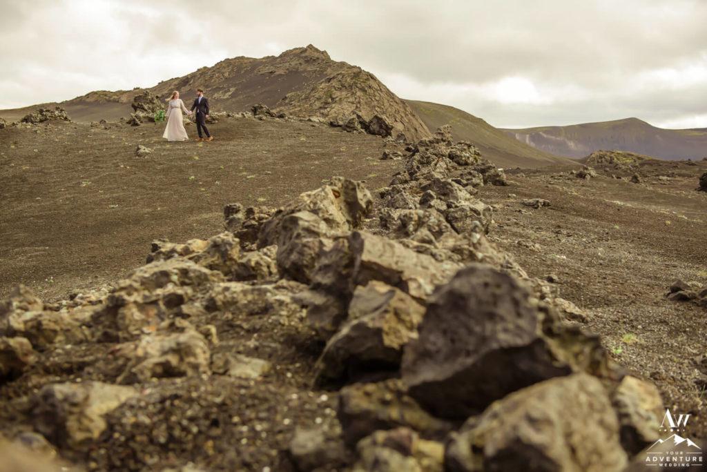 Lunar Landscape in Iceland