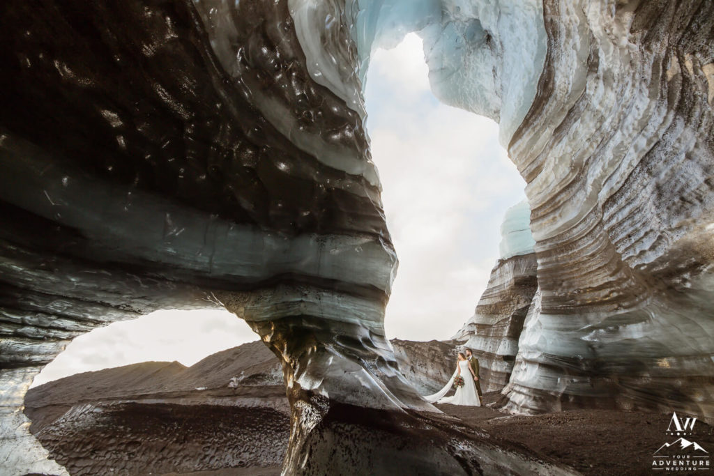 Iceland Ice Cave Wedding
