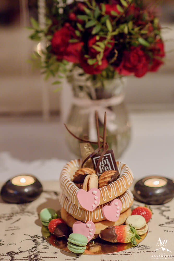 Traditional Iceland wedding cake