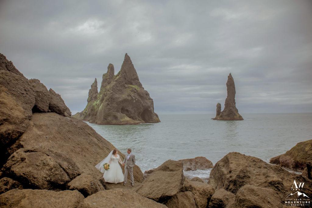 Reynisfjara Black Beach Wedding Photos