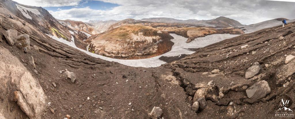 Hrafntinnusker Hike in Iceland