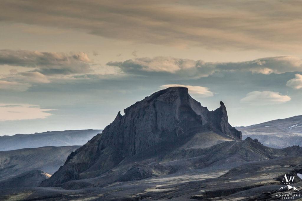 Unicorn Mountain in Thorsmork Iceland