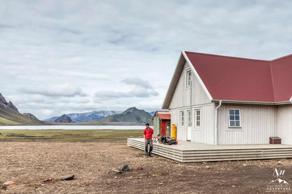 Álftavatn Hut in the Icelandic Highlands