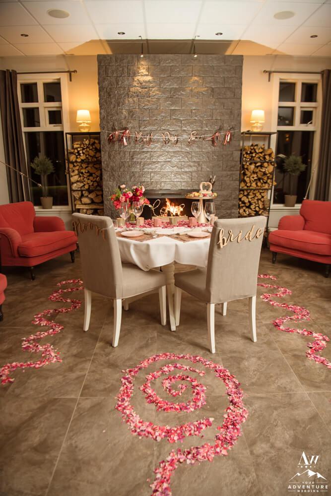 Luxury Wedding Table at Hotel Grimsborgir