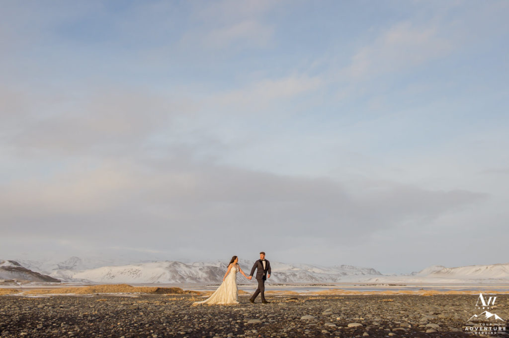 Vik Iceland Elopement Honeymoon Session