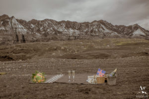 Iceland Luxury Picnic at a Glacier