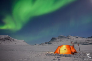 Winter Camping Experience in Iceland