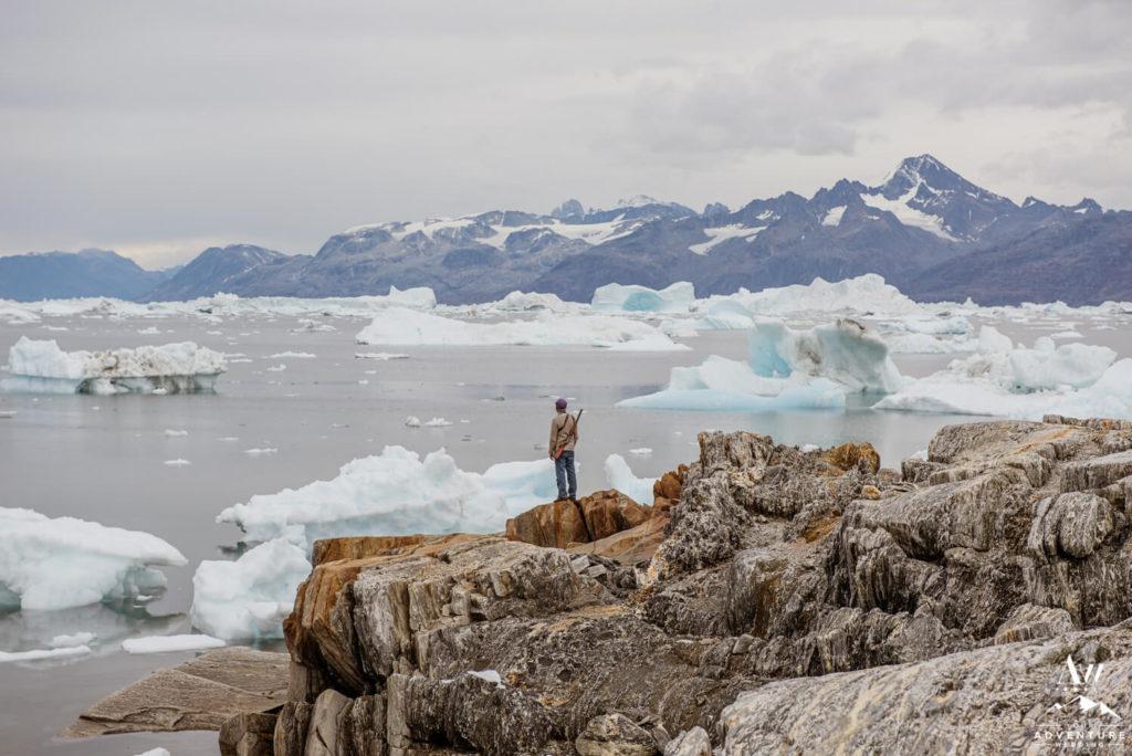 Groom Standing in Greenland