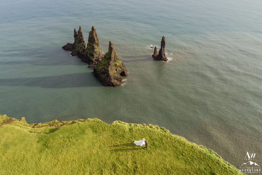 Basalt Sea Stacks in Iceland Reynisdrangar