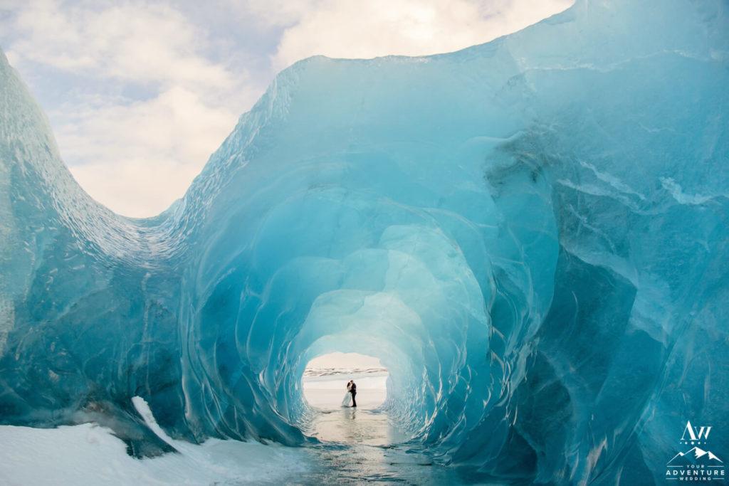 Iceland Blue Ice Cave Wedding