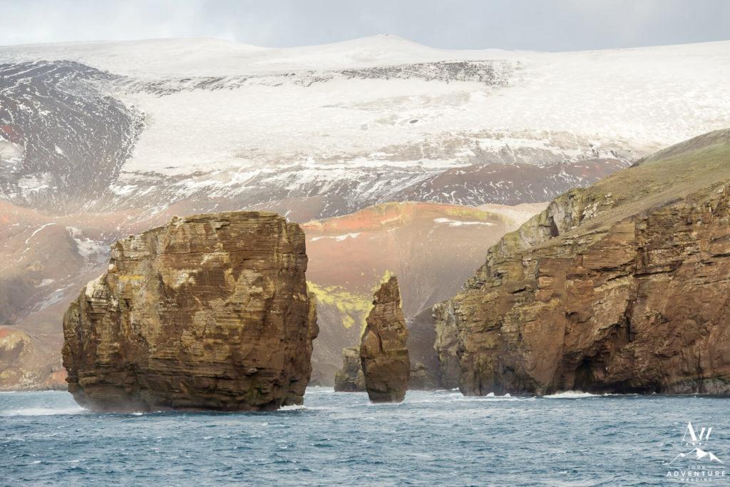 Volcanic Landscapes in Antarctica