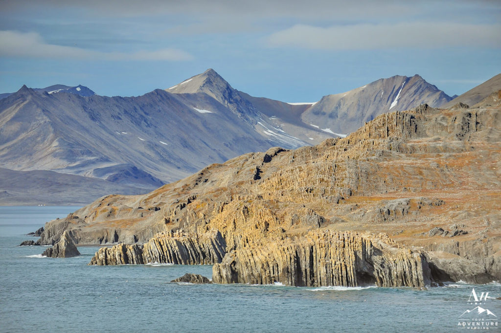 Svalbard Volcanic Features