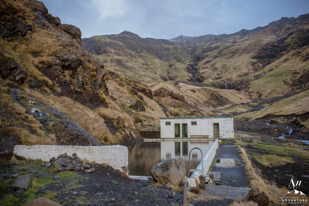Mountain Pool in Iceland named Seljavallalaug