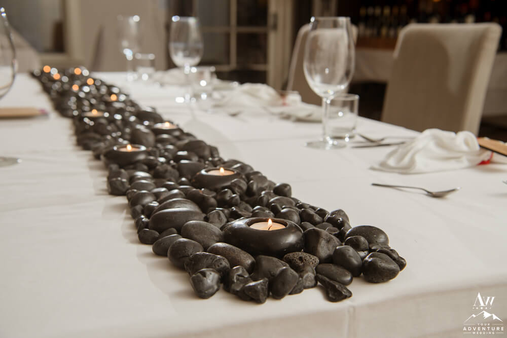 Basalt Rock Table Runner