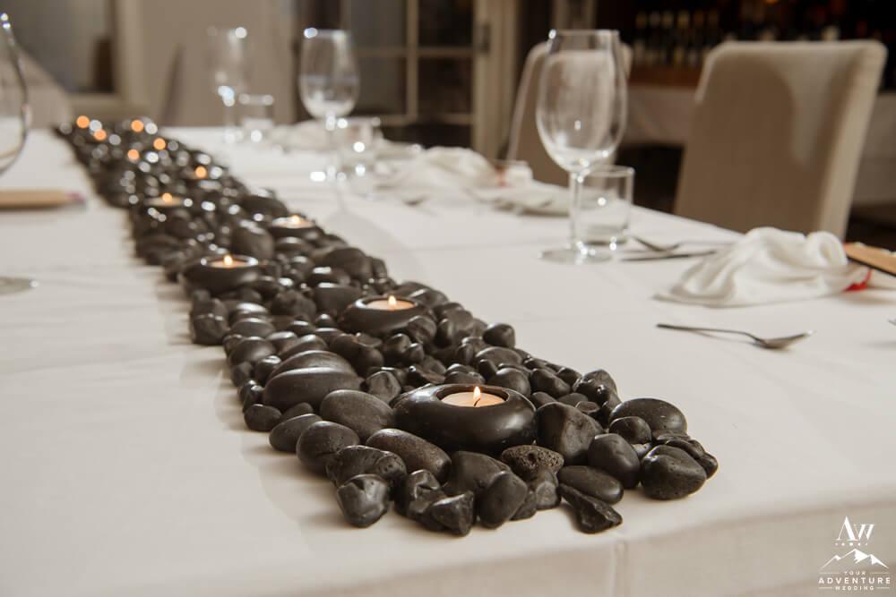 Basalt Rock Table Runner