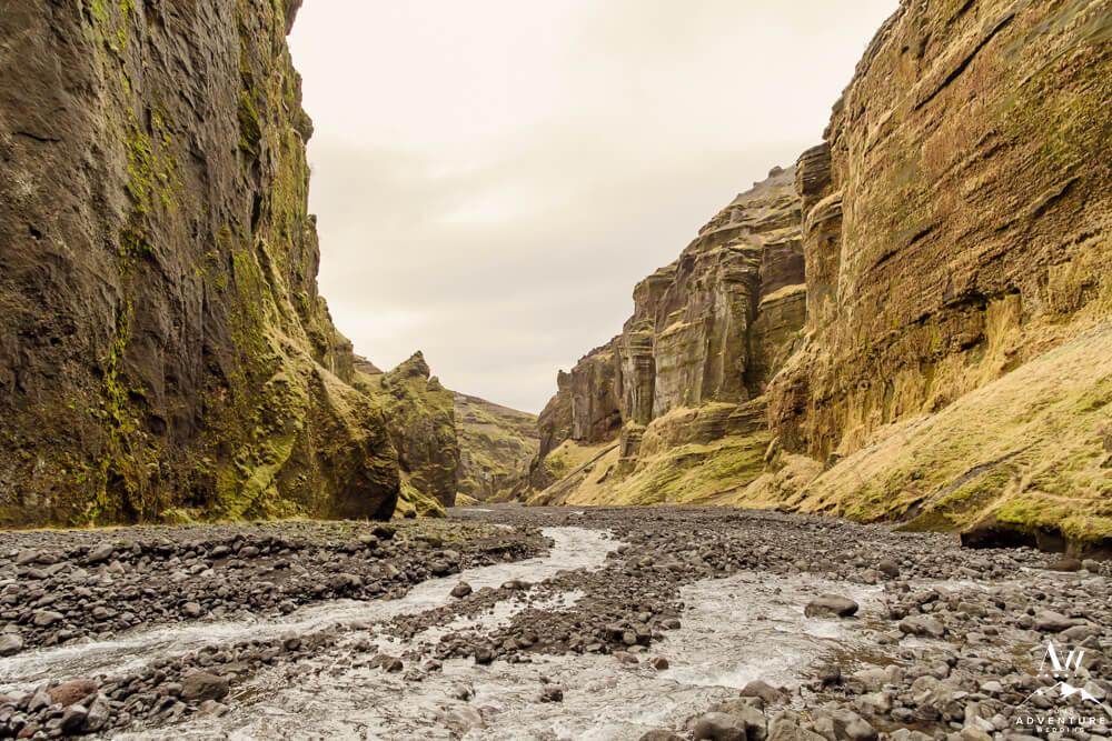 Iceland Landscape Stakkholtsgjá Hike