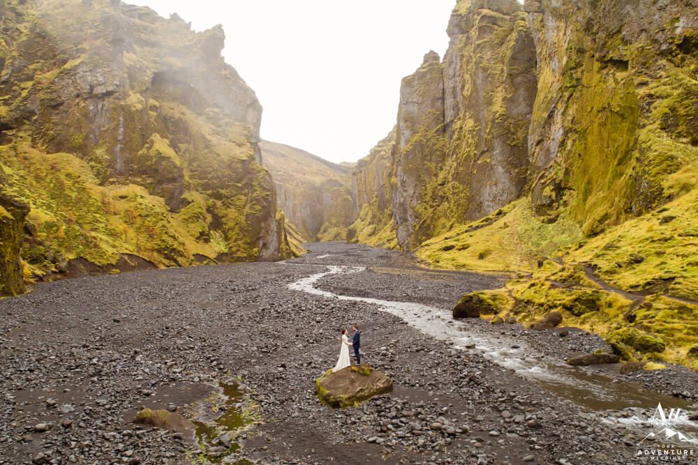 Iceland Wedding in Thorsmork
