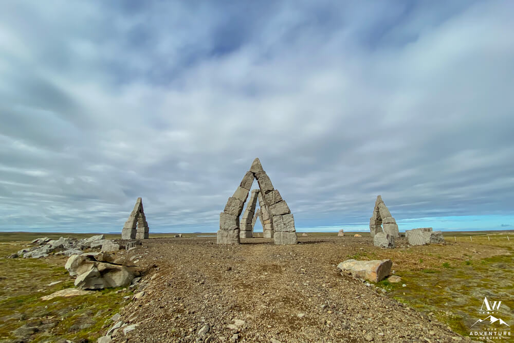Arctic Henge Iceland Wedding Location in North