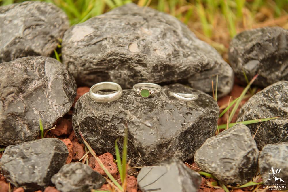 Eco-Friendly Iceland Wedding Rings