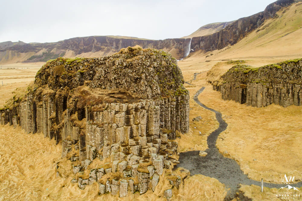Iceland Hidden Gem Dverghamrar Basalt Rocks