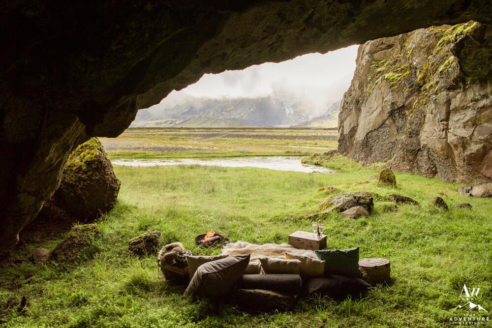 Romantic Iceland Elopement Luxury Picnic