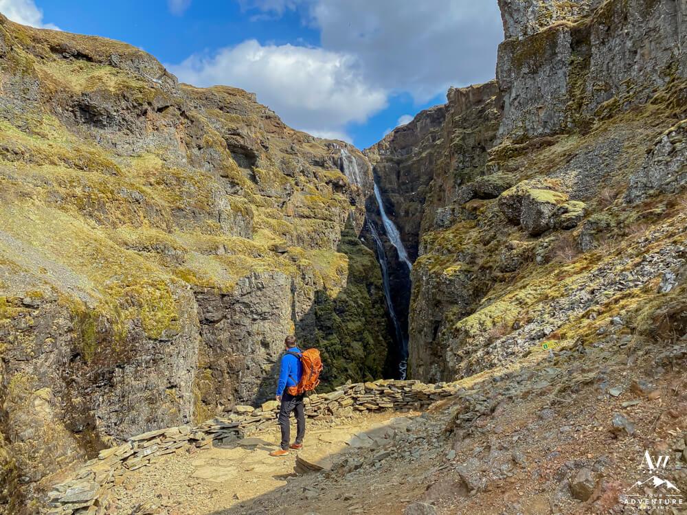 Glymur Waterfall Viewpoint