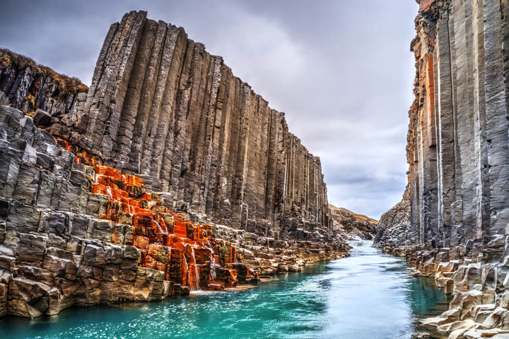 Iceland Elopement Location Studlagil