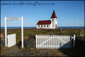 Hellnar Country Church Iceland Ceremony Location