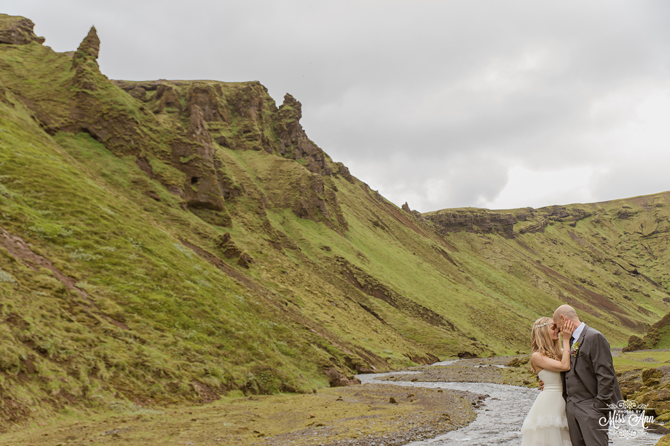 Iceland Canyon Wedding Photographer