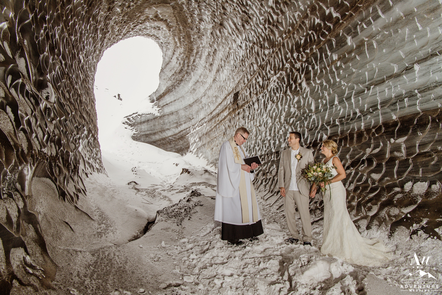 Iceland Ice Cave Wedding-13