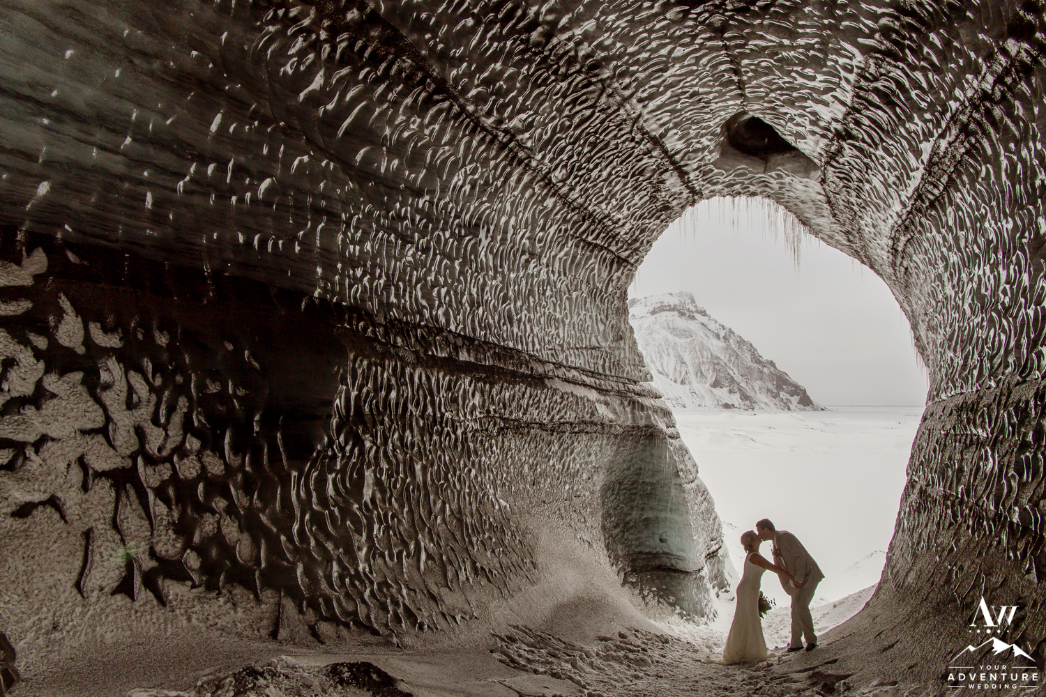 Iceland Ice Cave Wedding-19