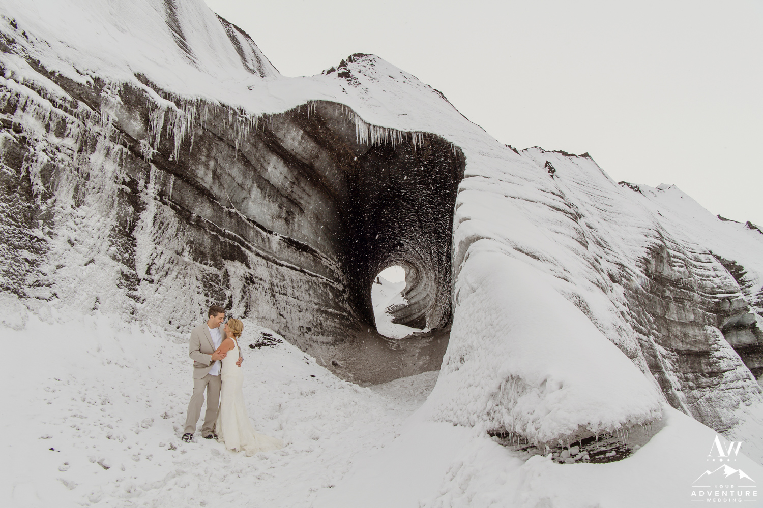 Iceland Ice Cave Wedding-20