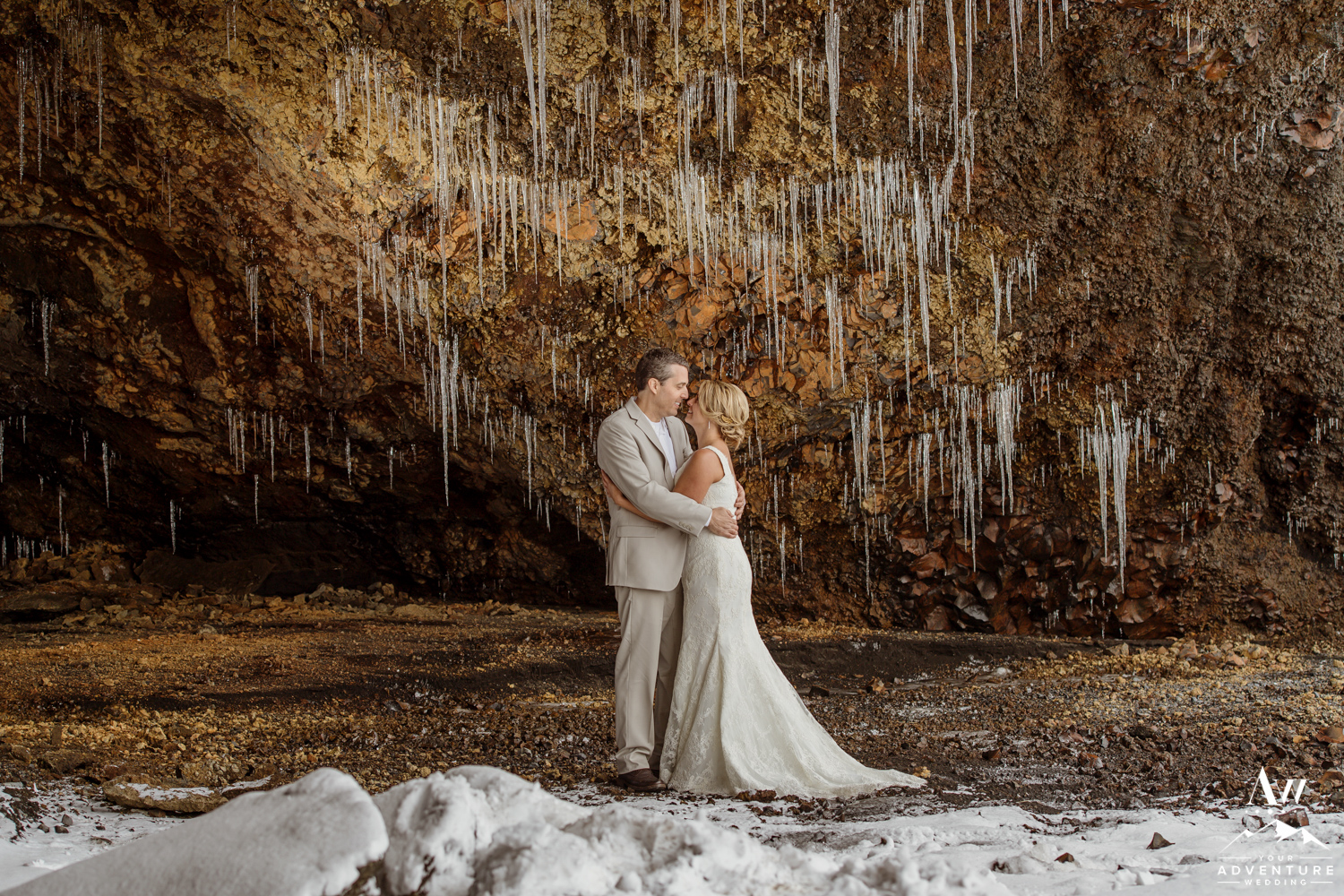 Iceland Ice Cave Wedding-37