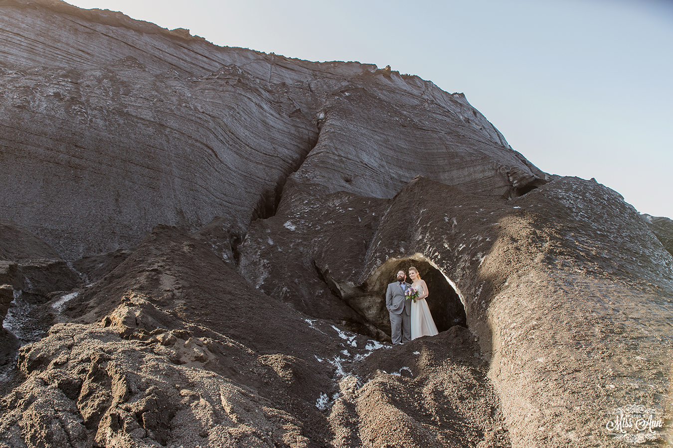 Iceland Ice Cave Weddings - Photos by Miss Ann