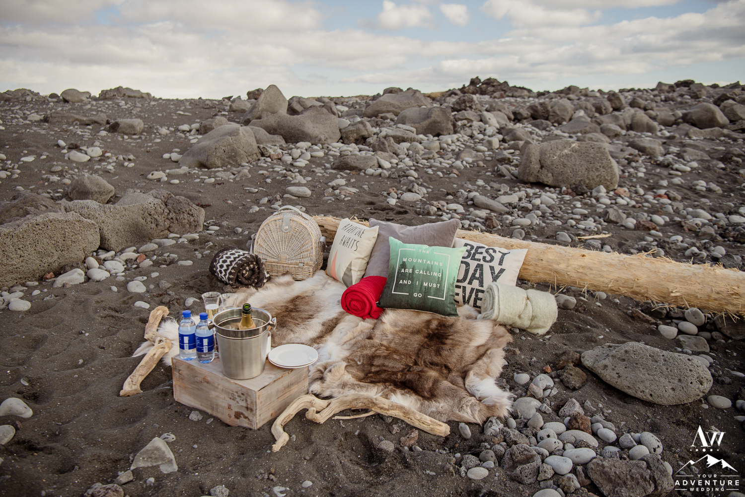 Iceland Luxury Elopement Picnic