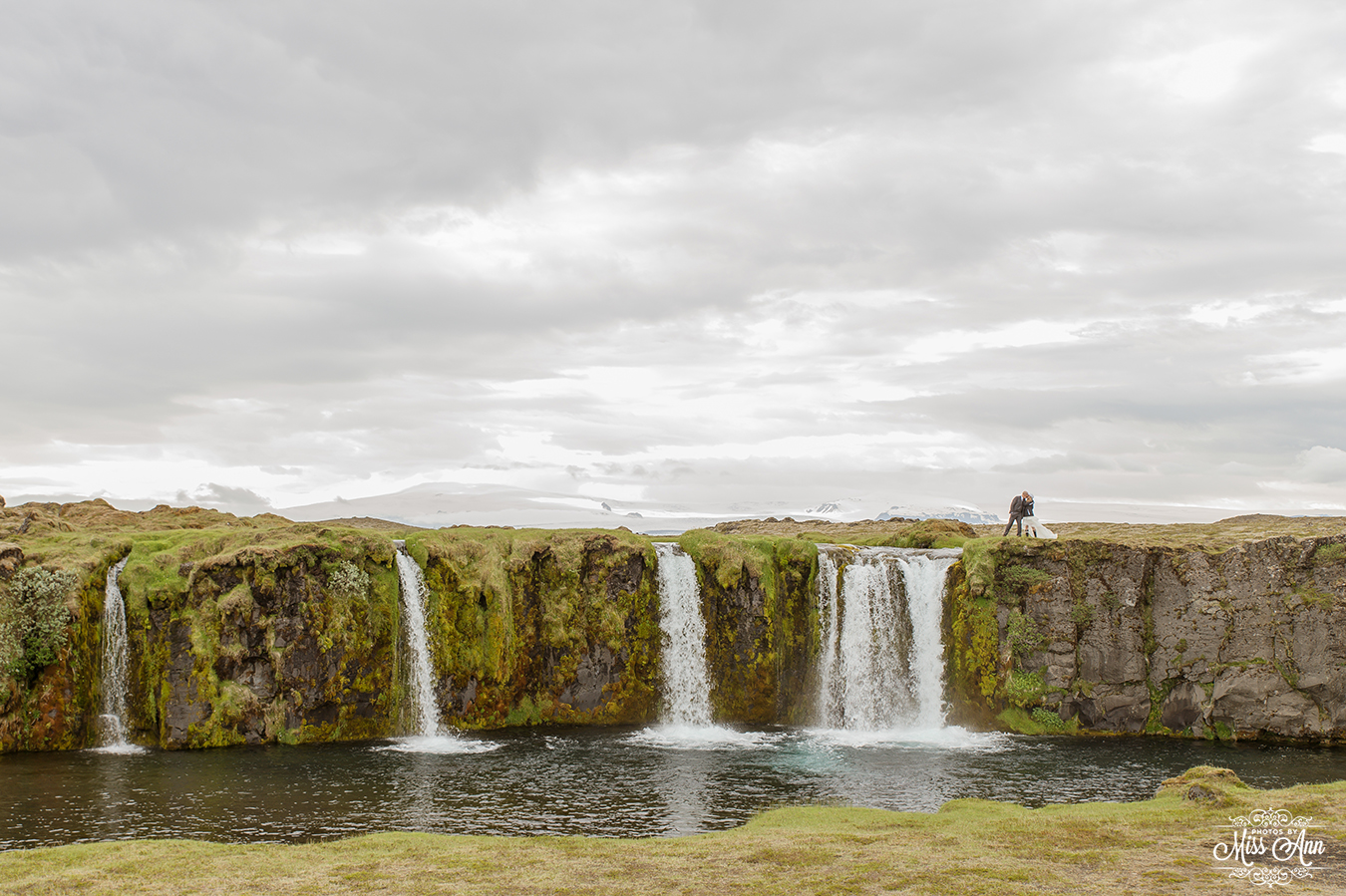 Iceland Secreat Waterfall Wedding Photographer