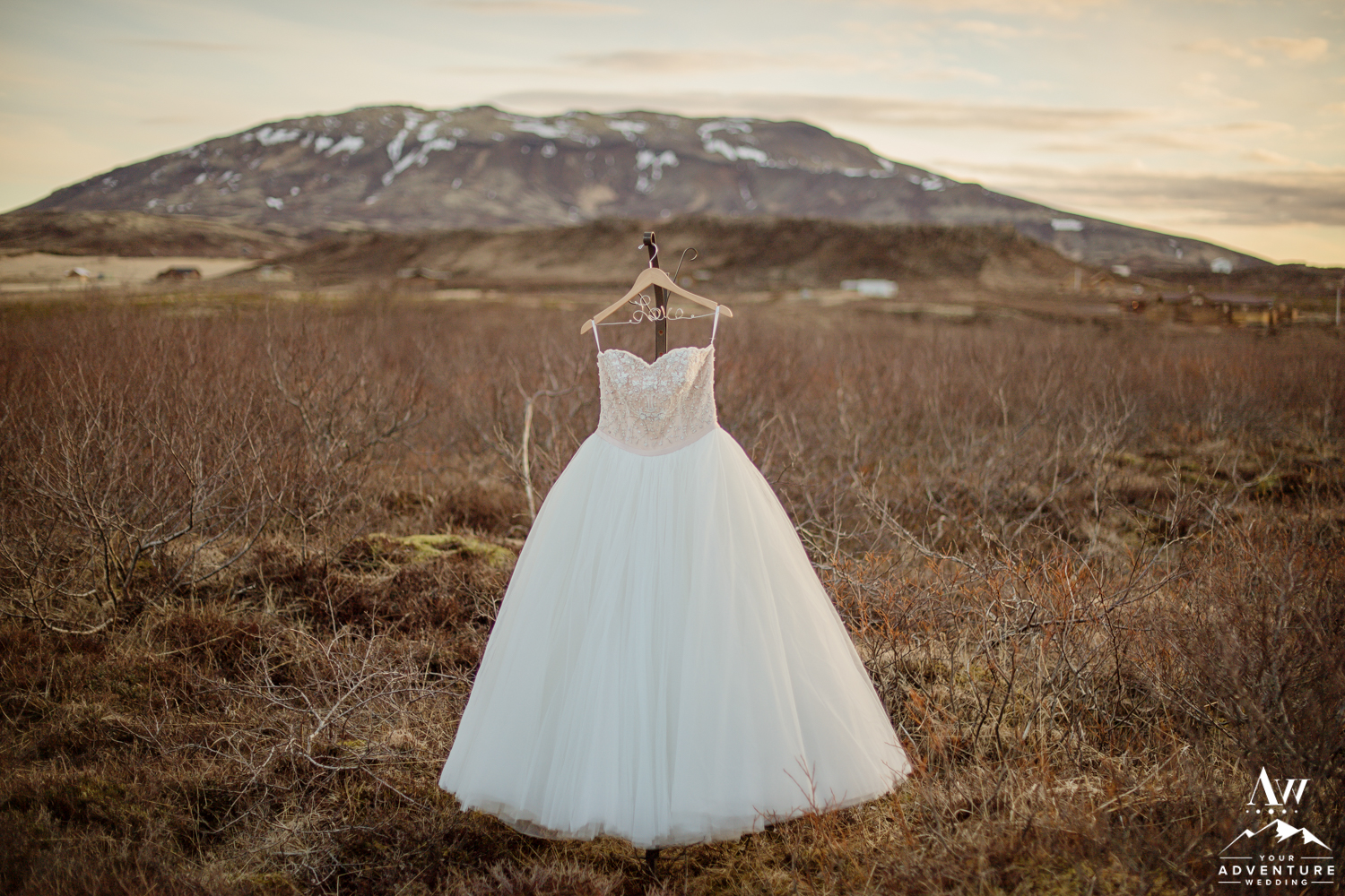 Iceland Wedding Dress