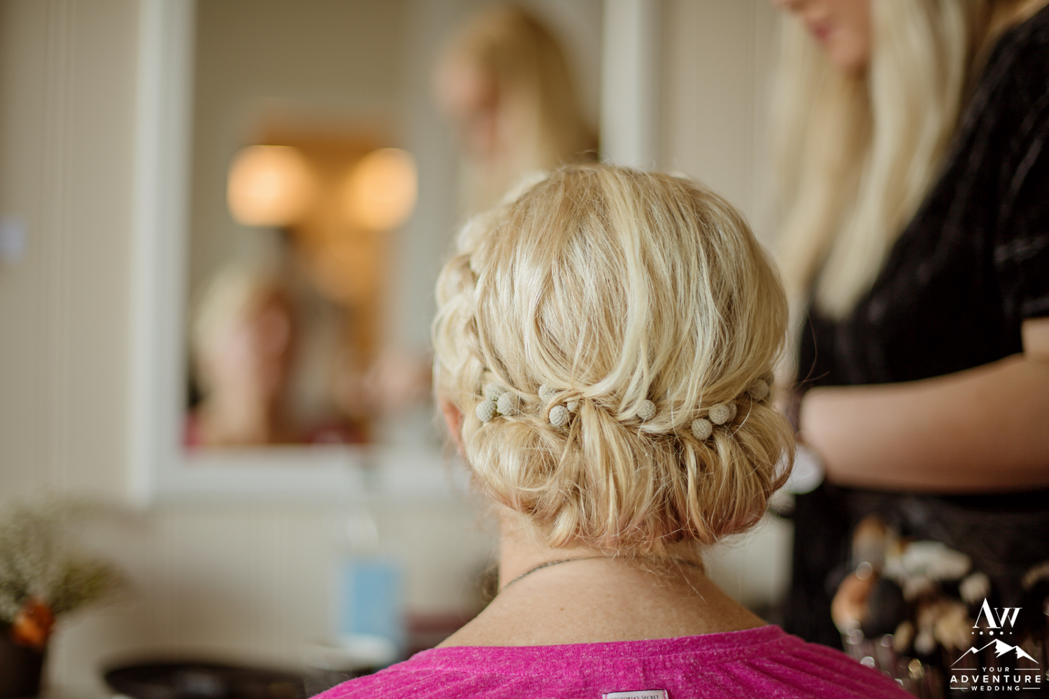 Iceland Wedding Hairstylist