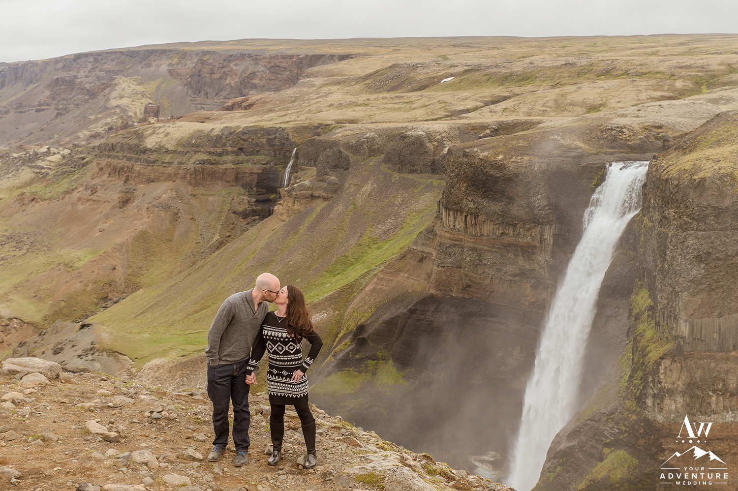 Iceland Wedding Photographer - Haifoss