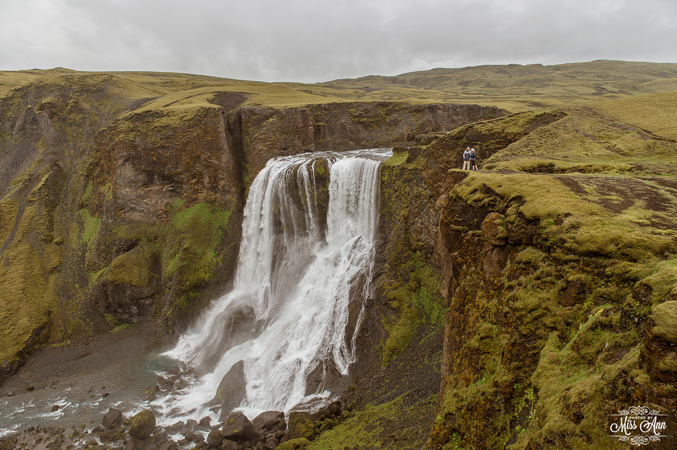 Iceland Wedding Photographer - Secret Waterfall Wedding Location