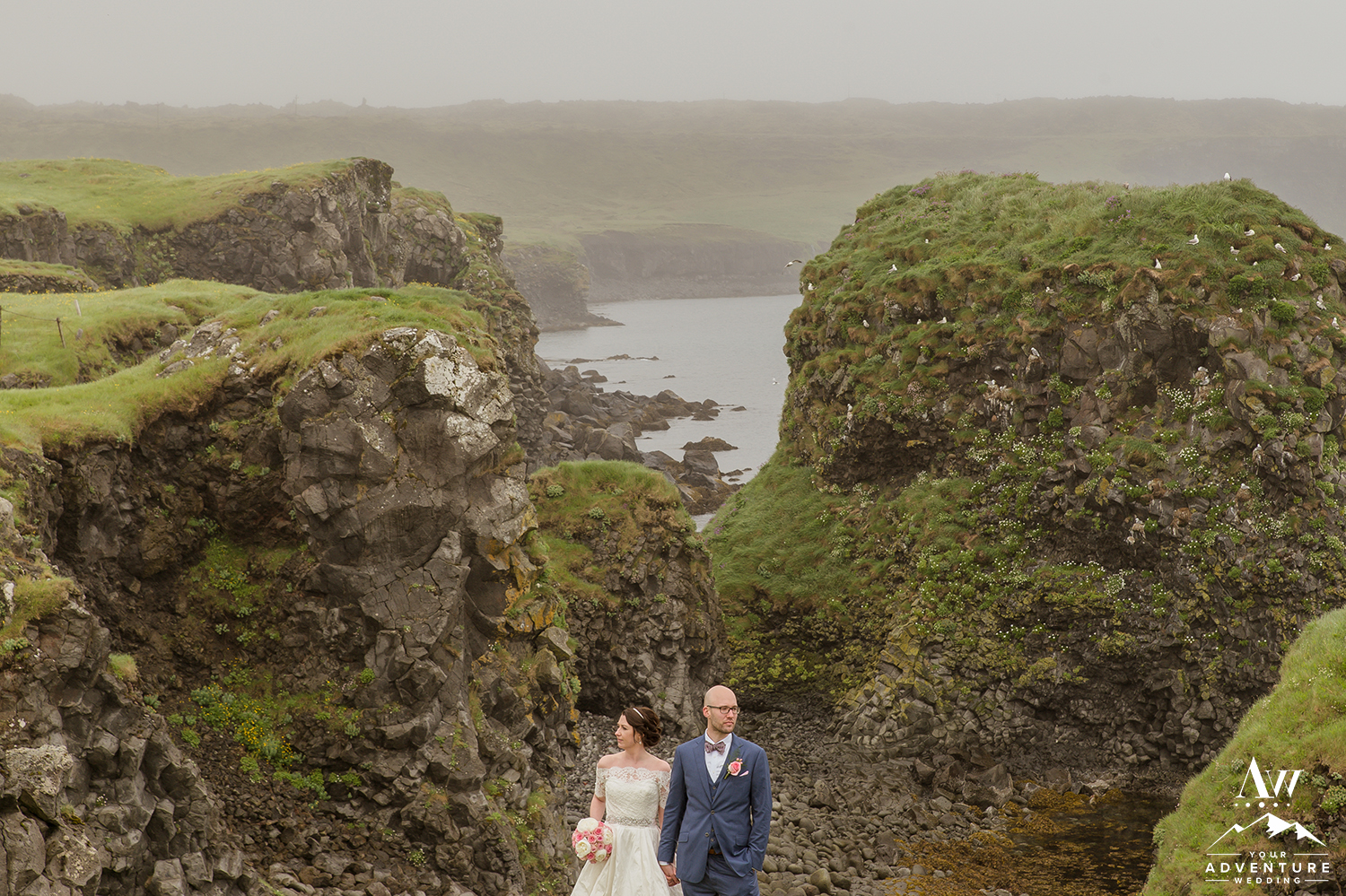 Iceland Wedding Photographs - Arnarstapi Snaefellsness