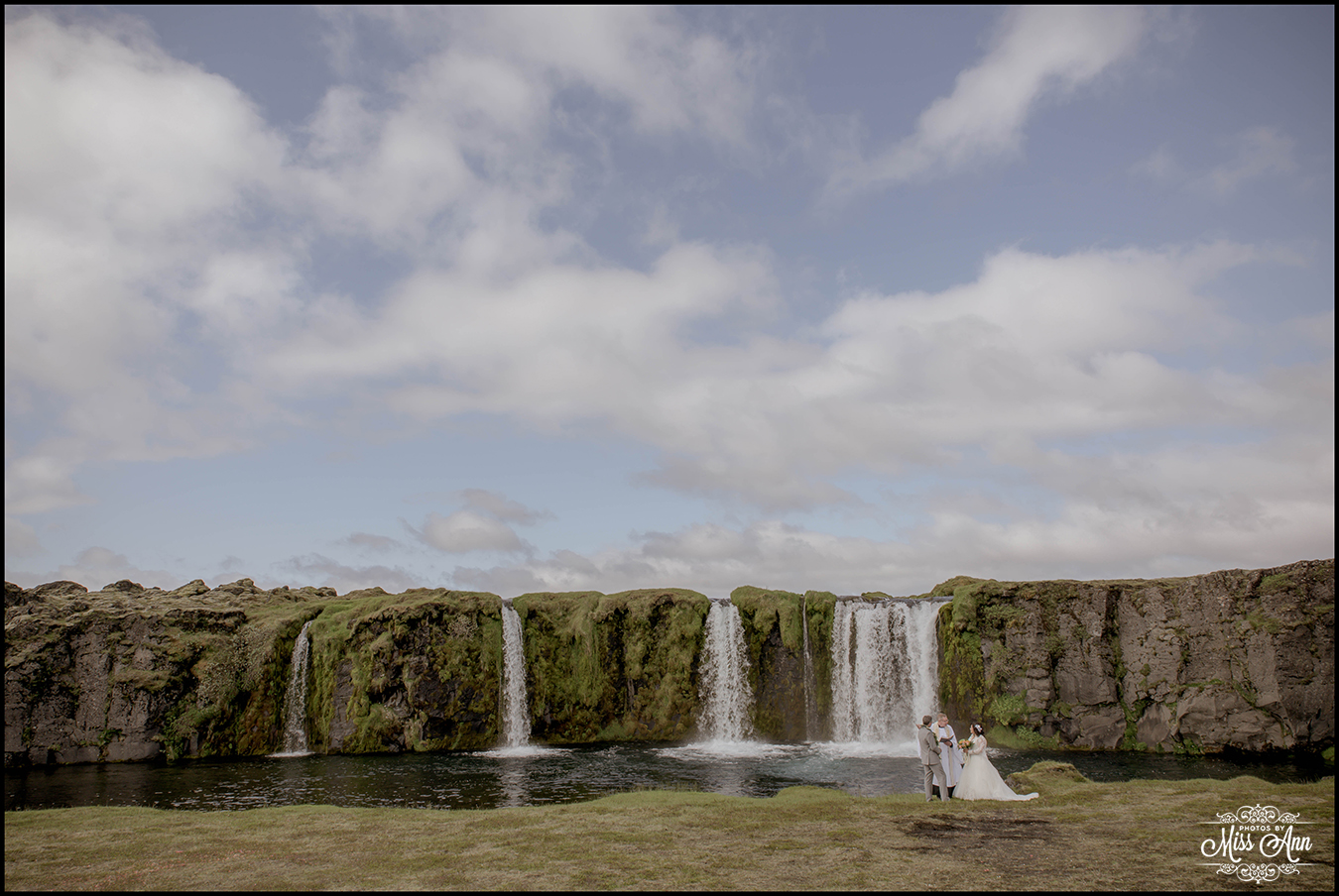Iceland Wedding Secret Waterfall