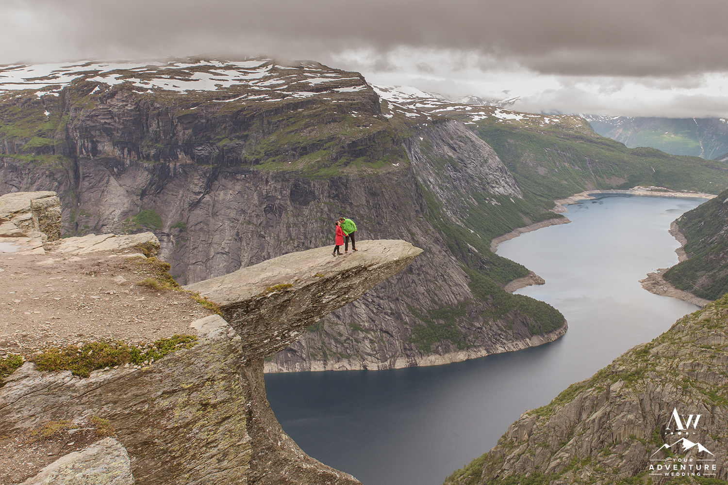 Norway Wedding Locations Trolltunga Wedding