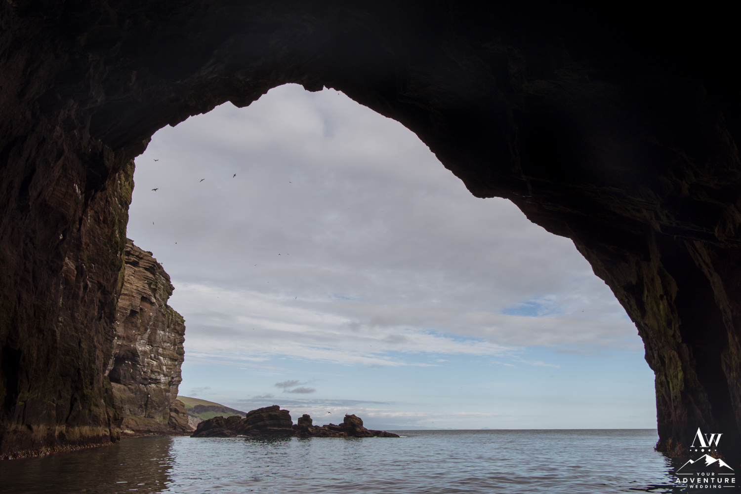 Westman Islands Iceland Wedding Cave-24